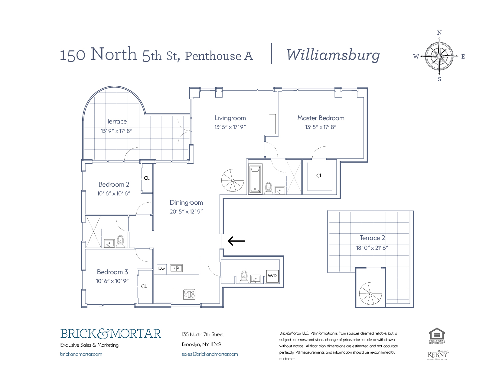 Condo, 150 North 5th Street #PHA, Williamsburg - Real Estate